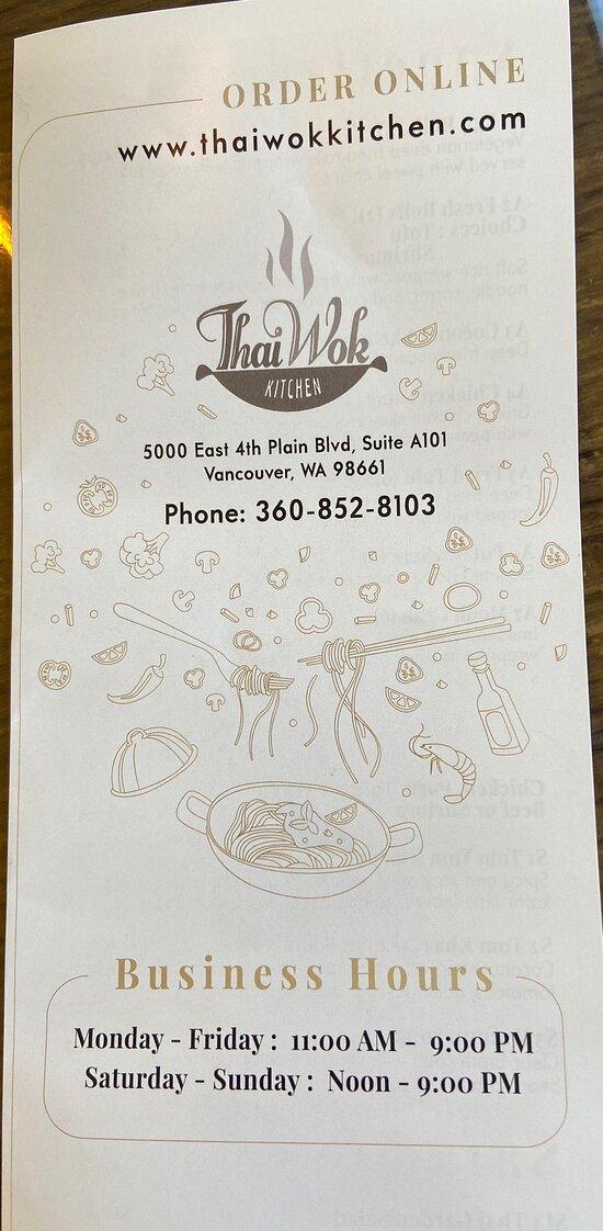 Restaurant and menu