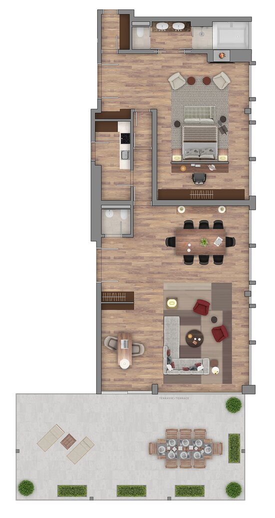 Bürgenstock Penthouse Suite