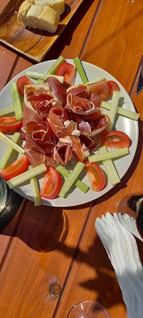 Jambon, celery & tomato