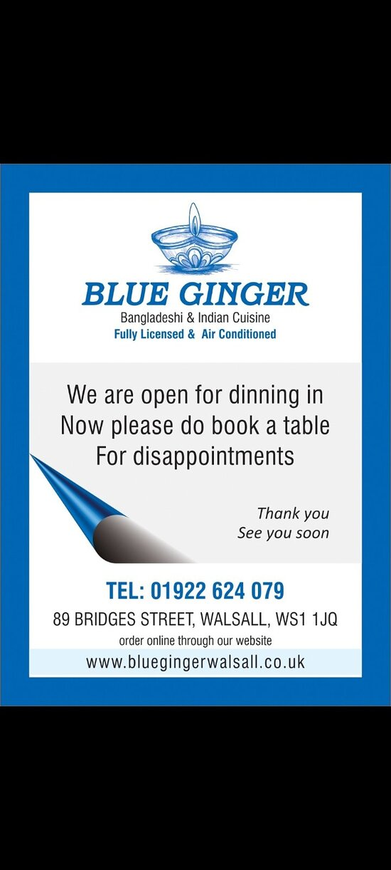 Open for dinning in now hurry book your tables & enjoy the atmosphere thank you.