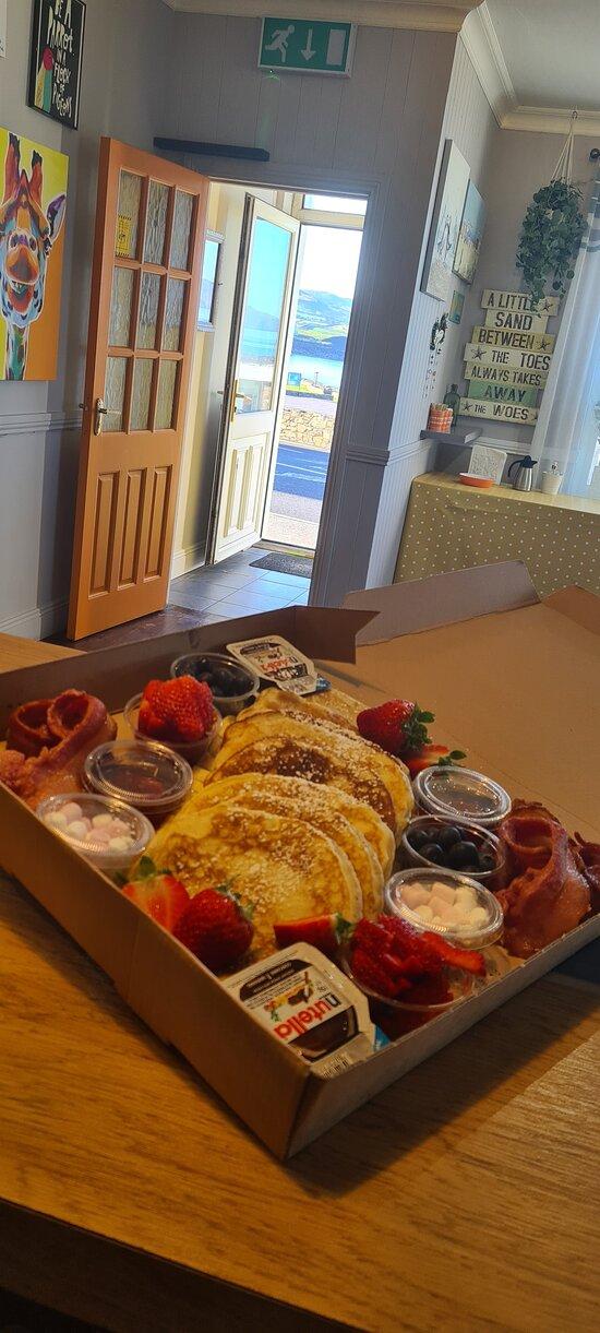 Pancake sharing box