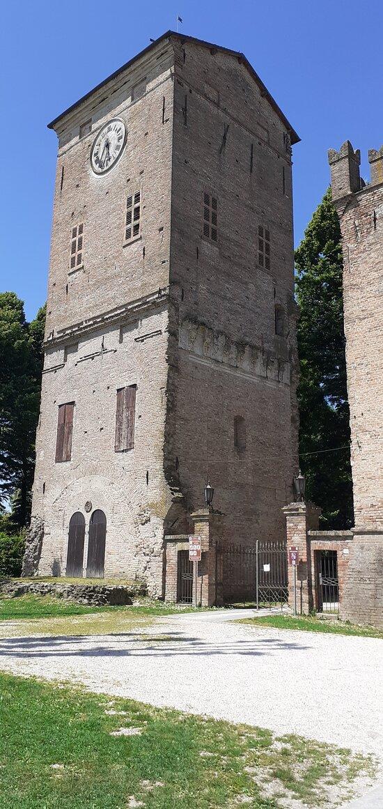Rocca dei Rossi di San Secondo - la Torre dell'Orologio
