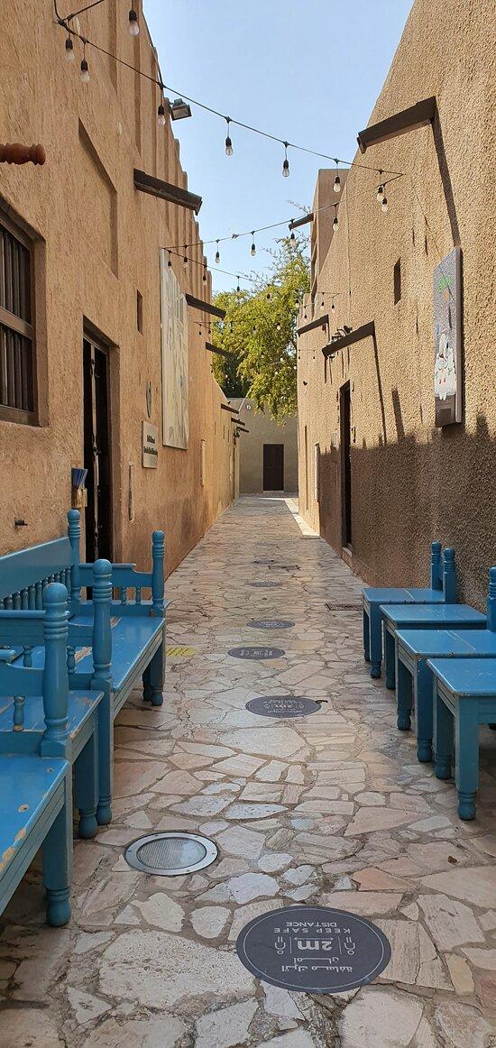 Bastakiya district / Al Fahidi / Al Seef in Dubai