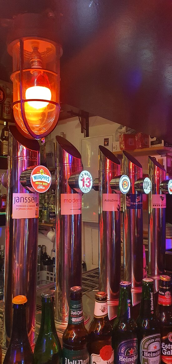 Variedad de cerveza de grifo
