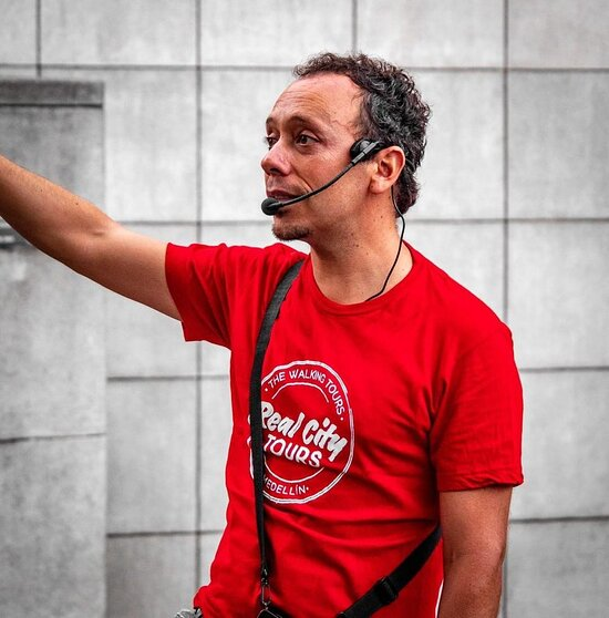 Edgar, one of our guides