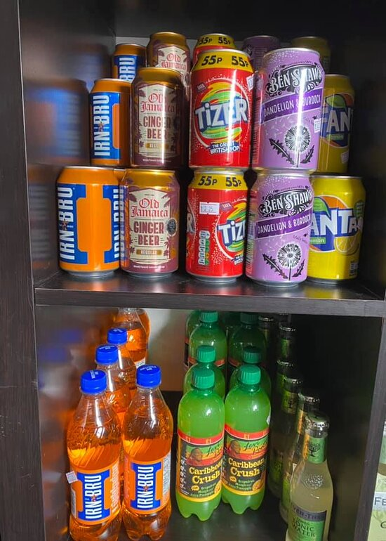 Remember these? A great selections of drinks.
