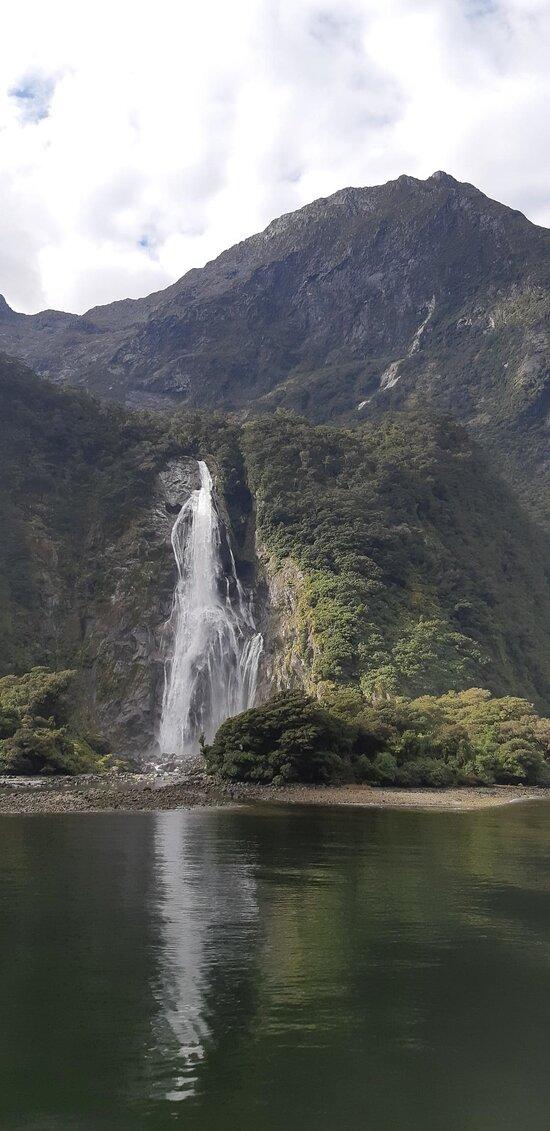 Bowen Falls at Milford Sound, NZ