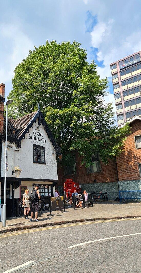 Ye Olde Salutation Inn Nottingham.