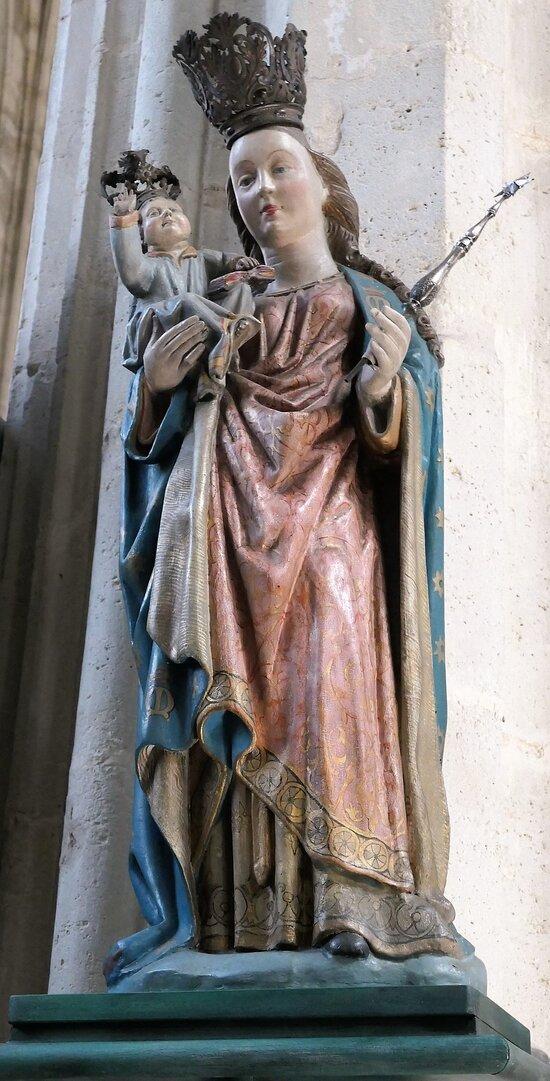 Mechelen Onze-Lieve-Vrouw-over-de-Dijlekerk Madonna