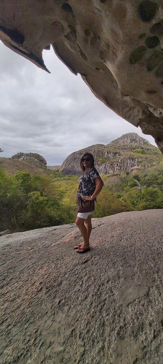 Belas paisagens serranas da região de Araruna/PB.