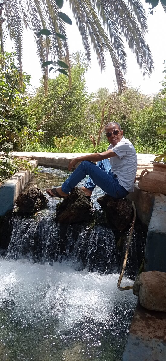 """Saturday August 21, 2021.  The beautiful tourist site called """"Tiout"""", South west of Morocco (Taroudant province)."""