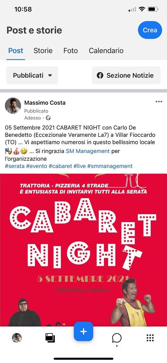 Cabaret night 5/9/21