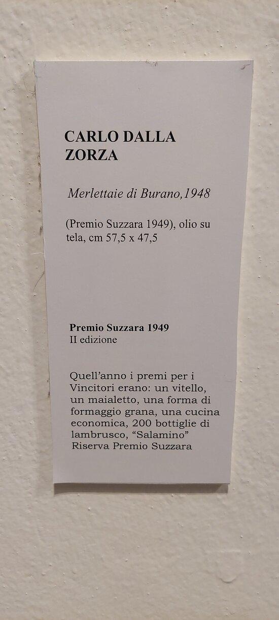 Didascalia dell'opera di Carlo Dalla Zorza. (da leggere fino in fondo)