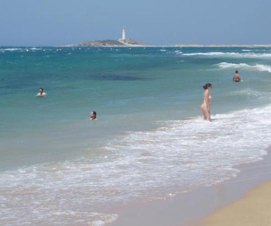 Costa de la Luz, สเปน: Beach at Cape Trafalgar