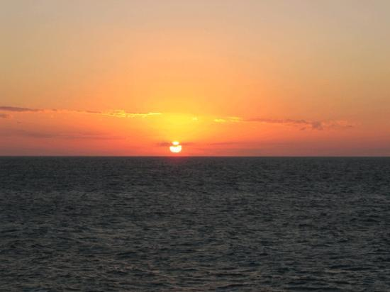 Blue Angel Resort: sunset
