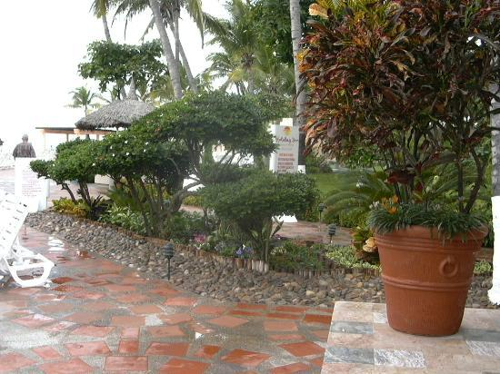 The Palms Resort Of Mazatlan: some of the gardens around the pool area