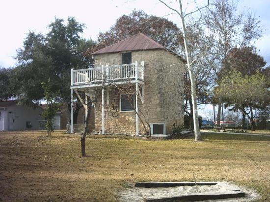 Landmark Inn State Historic Site: Bath House behind Lanmark Inn