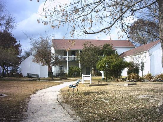 Landmark Inn State Historic Site: Backyard of Landmark Inn