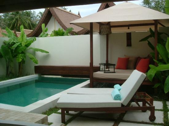 SALA Samui Choengmon Beach Resort : our pool area