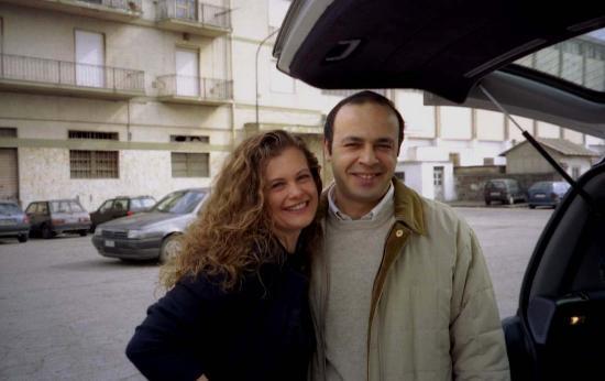 Hotel Grillo Verde: Mr Borrelli and I