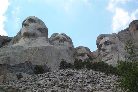 Mount Rushmore National Memorial: Mt. Rushmore