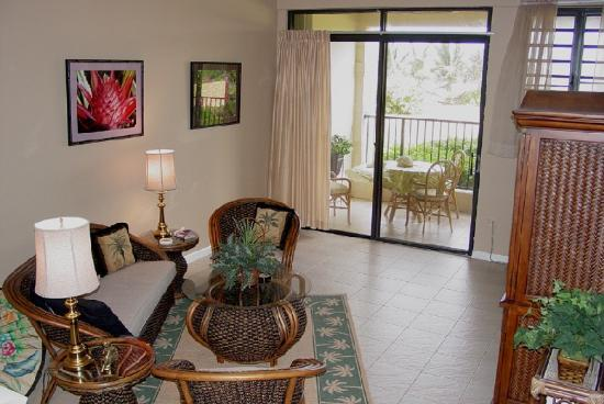 Pelican Cove Condos: Pelican Cove - Living Room w/ Home Theater