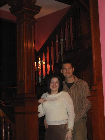 1884 Tinkerbelle's Wildwood Bed and Breakfast: Stairway @ Wildwood