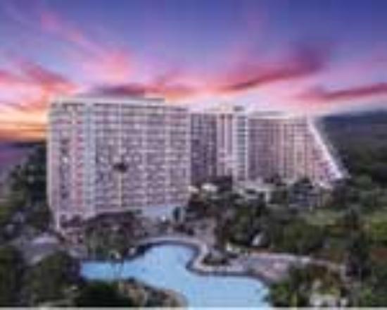 Ka'anapali Beach Club: The Embassy Vacation Resort at Night
