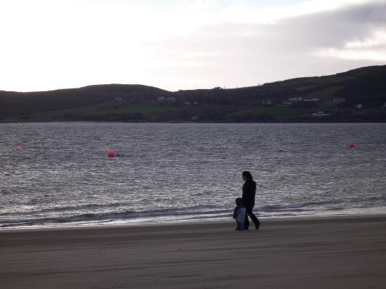 Beach outside Rathmullan House