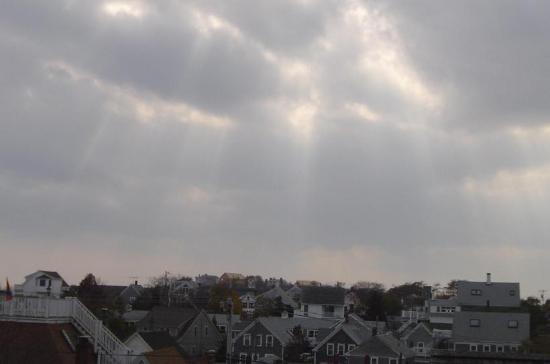 Revere Guest House: View from the deck
