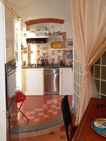 Alla Porta Rossa: the kitchen