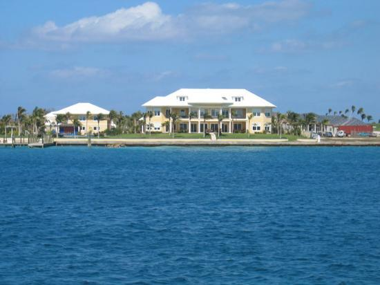 View Of Michael Jordans House From Booze Cruise Picture