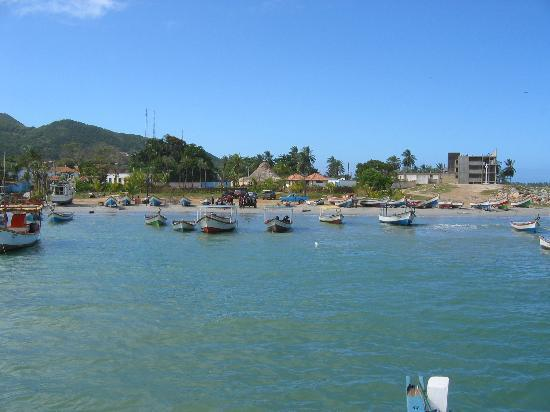 Playa el Agua, Venezuela: Fishing ( Not Manzanillo Beach) Village