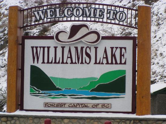 British Columbia, Kanada: Williams Lake, 3 hours south of Prince George
