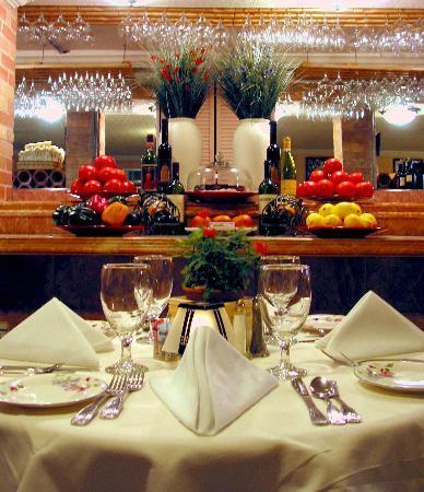 The Cellar Restaurant Dining Room