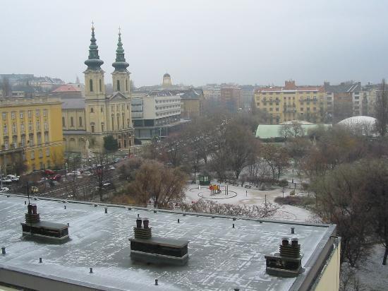 Danubius Hotel Flamenco - Budapest: View form our room