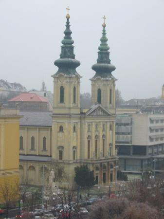Danubius Hotel Flamenco - Budapest: View from our room