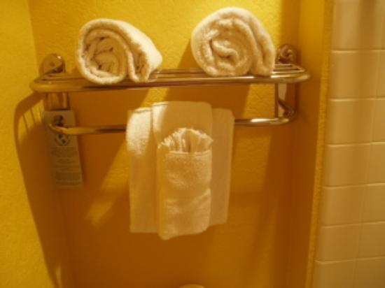 مونتيري باي لودج: Origami Towels