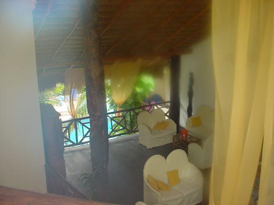 Hotel Riviera del Sol: Sitting area, from 3rd floor