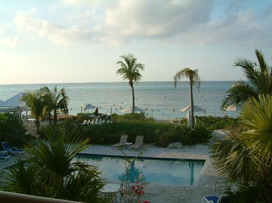Coral Gardens on Grace Bay: View from our CG room