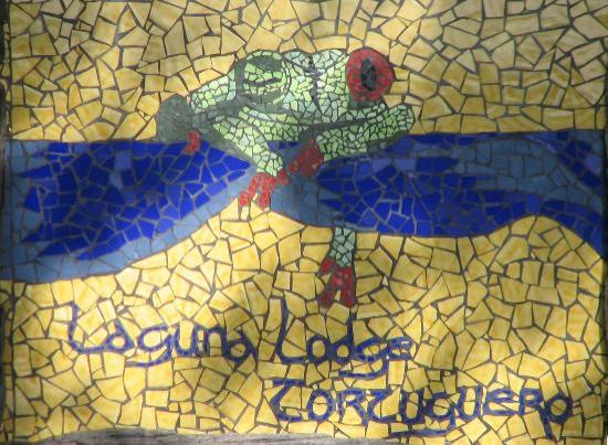 Laguna Lodge Tortuguero: Sign