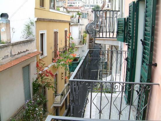 Casa Grazia: A view from a 3rd floor balcony