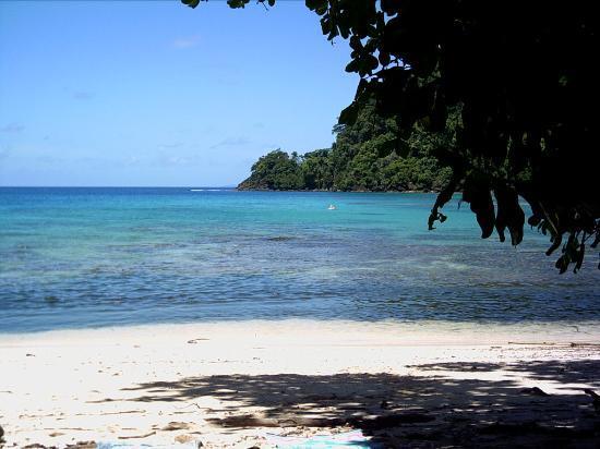 Matangi Island, Figi: Horseshoe Bay