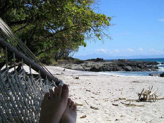 Ylang Ylang Beach Resort: Beach in front of hotel