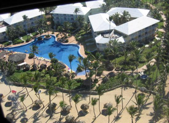 Excellence Punta Cana: Ariel view of far end of the resort