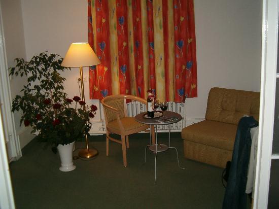 Hotel Tiergarten: Seating