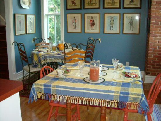 D&D's B&B: where we ate breakfasts at D&Ds