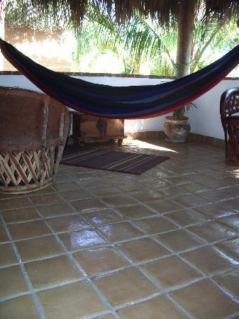 The Bungalows Hotel: hammock in one of the bungalows