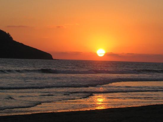 Hotel Playa Mazatlan : Mazatlan sunset can be viewed from the Playa