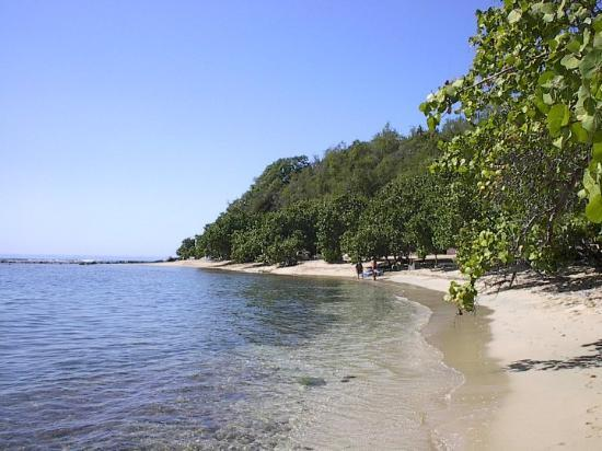 Hotel Brisas Los Galeones: The Beach. Nice and secluded